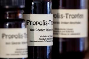 Propolis-Flaschen in drei Größen