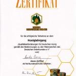 MoritzHonigzertifikat